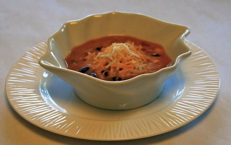 Easy to make Super-Delicious Breakfast Keto Chicken Enchilada Bowl