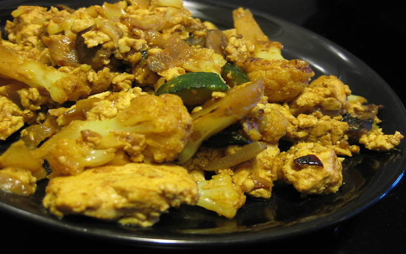 Turmeric Scrambled Egg Meal