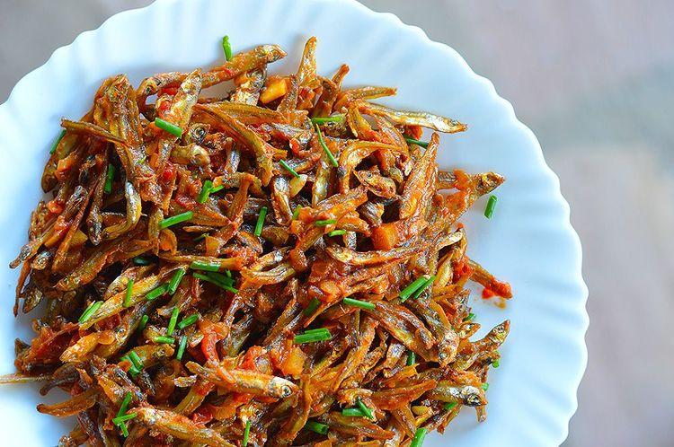Zambian Meals - Kapenta Stew