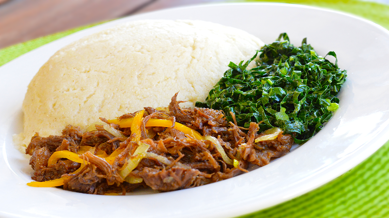 Foods in Zimbabwe - Muriwo Na Nyama