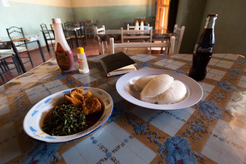 Zambian Foods - Nshima
