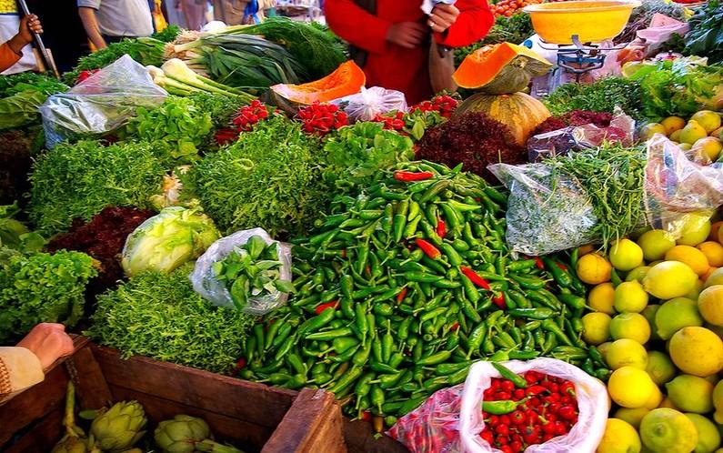 Vegetables in Africa