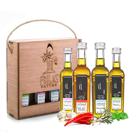 Herbs Infused cooking oils