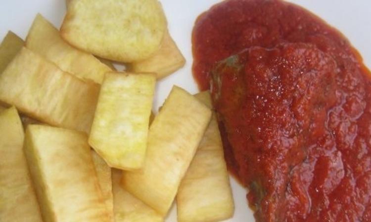 Nigerian Fried Yam?