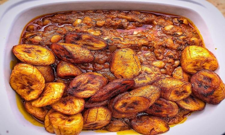 Ghana Food - Red-red